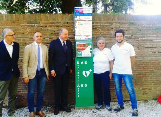 """Lucca città cardioprotetta: attivi 9 defibrillatori grazie  al progetto """"Il cuore batte per Lucca"""""""