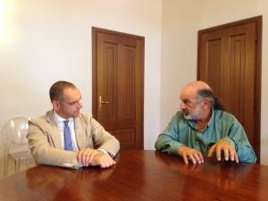 sindaco con Rick Anthony