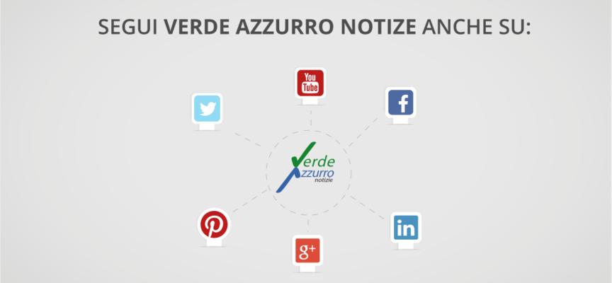 Verde Azzurro Notizie è presente anche su Google+, Pinterest, Linkedin…