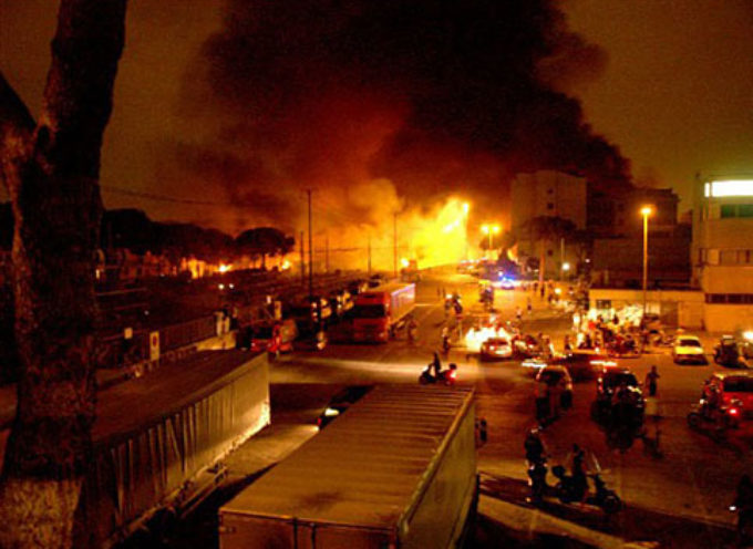 Intervento del presidente Luca Menesini sulla strage di Viareggio.