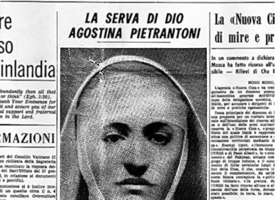 Il Santo del giorno, 13 Novembre: Suor Agostina Pietrantoni