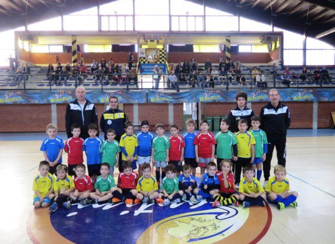 Festa grande al Palazzetto per i bimbi del Centro Avviamento allo Sport del Castelnuovo