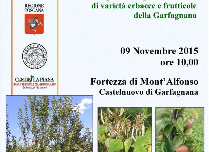 L' Unione Comuni Garfagnana presenta i risultati finali dei Progetti Locali per il recupero e la tutela di varietà erbacee e frutticole della Garfagnana