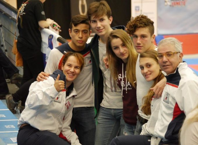 Dojo Karate Lucca in evidenza alla Venice International Cup