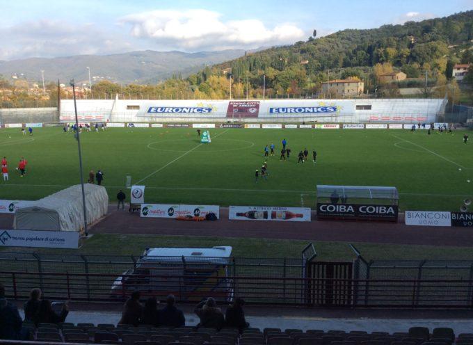 Strepitosa vittoria della Lucchese! 2-1 all'Arezzo!
