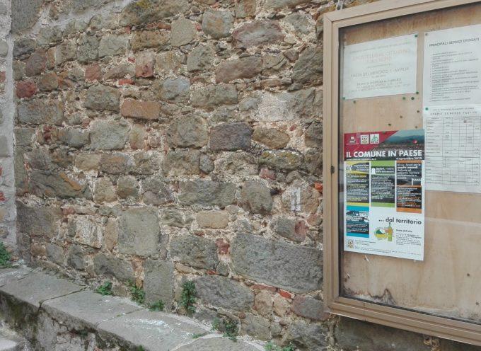 Capannori: ripristinate le bacheche presenti nelle zone collinari
