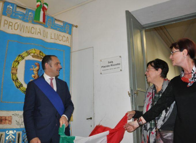 La Protezione civile di Lucca omaggia la memoria di Placido Rizzotto