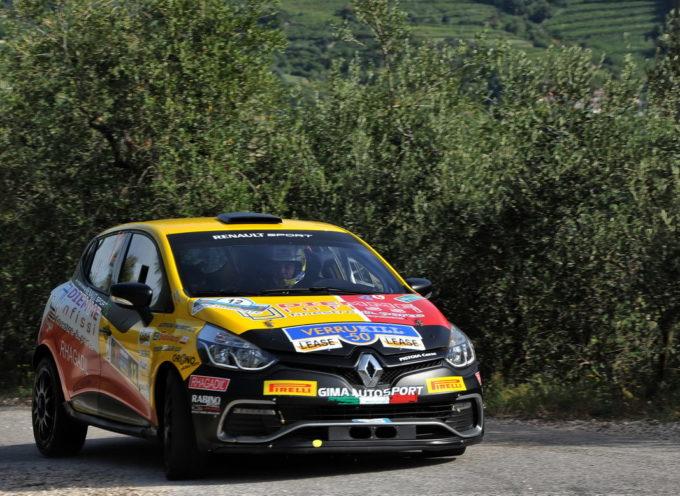 Luca Panzani e la Renault Clio R3T della GimaAutosport, questo fine settimana saranno al via della seconda edizione del  Rally Day di Pomarance, in Valdicecina