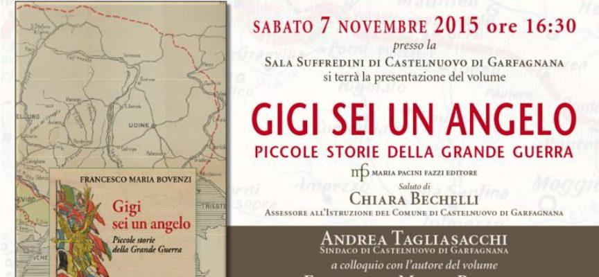 """Castelnuovo di Garfagnana, sabato la presentazione del libro di Francesco Bovenzi """"Gigi sei un angelo"""""""
