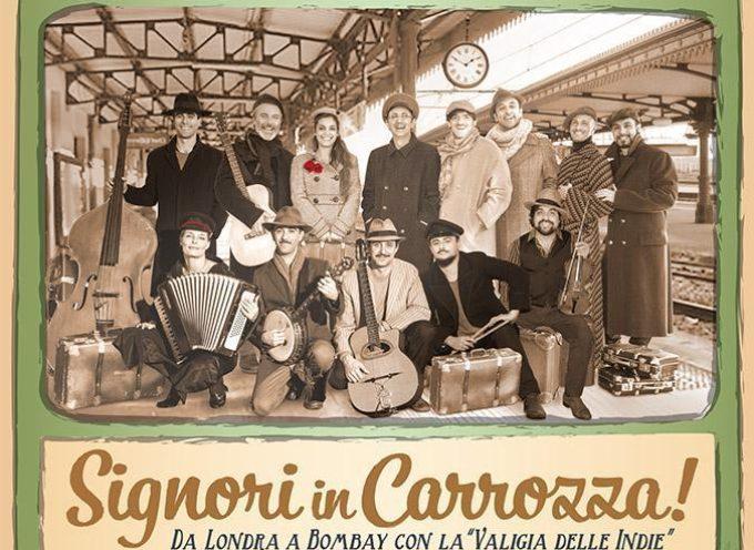 Parte la stagione del Puccini con Signori in Carrozza Mercoledi 25 Novembre alle 21 al teatro altopascese. Alle 18,30 incontro pubblico della compagnia