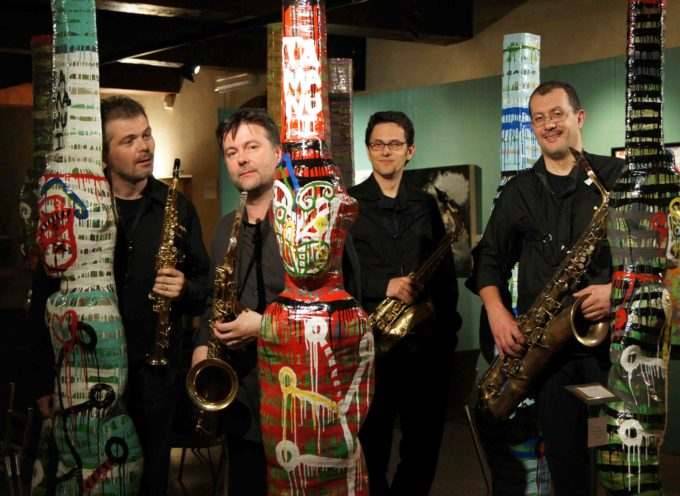 IL TIMELESS SAXOPHONE QUARTET IN CONCERTO