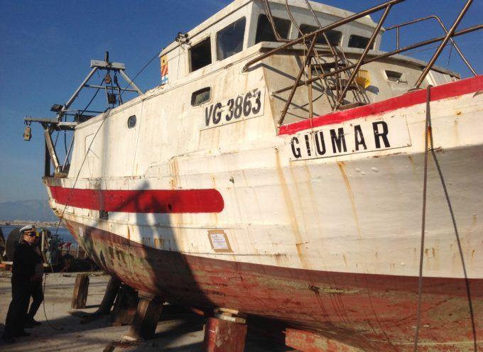 """Al recupero del peschereccio """"Giumar"""" anche i VVFF di Lucca"""