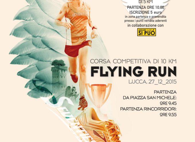 A Lucca la prima edizione della Flying Run: corsa competitiva di 10 Km  e una non competitiva aperta a tutti di 5 km