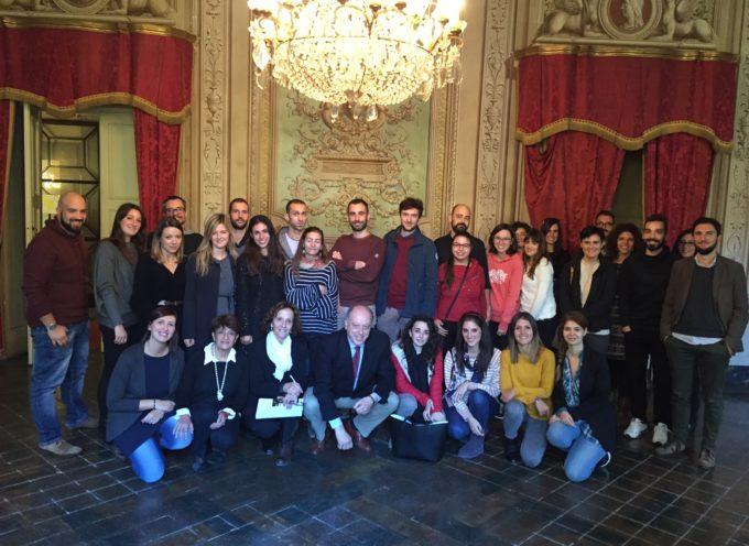 La carica dei Giovani Sì:  a palazzo Orsetti il sindaco insieme all'assessore al personale ha dato il benvenuto ai nuovi tirocinanti