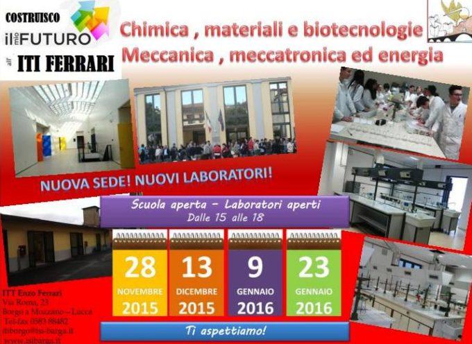 """ISTITUTO TECNICO TECNOLOGICO """"E. FERRARI"""": Scienza e Tecnologia per la crescita della cultura dell'Innovazione"""