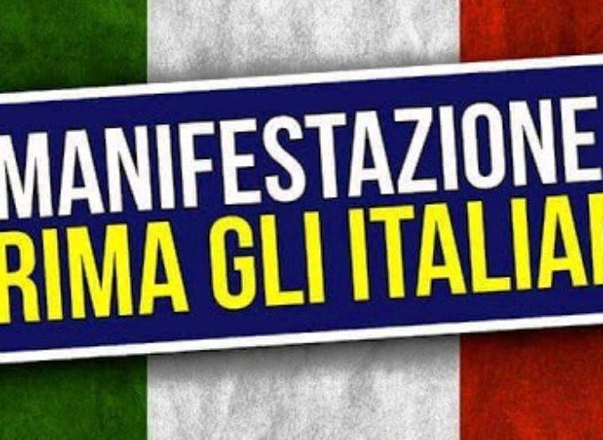 """Prima gli Italiani, Sabato in piazza dopo il """"tam tam"""" su internet"""
