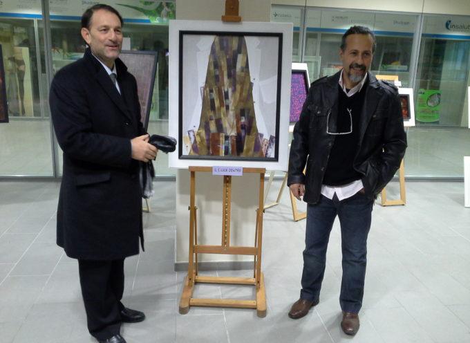 """Sabato 12 dicembre, all'ospedale San Luca di Lucca la chiusura della mostra """"Arcana verba"""" di Giuseppe Aldi"""