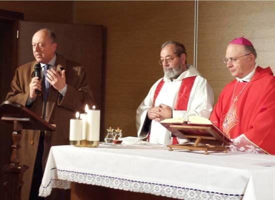 """L'Arcivecovo ha presieduto la Messa di S.Lucia al """"San Luca"""""""