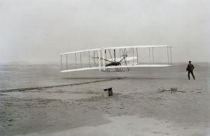 17 dicembre 1903 Il primo volo del Flyer, ai comandi di Orville