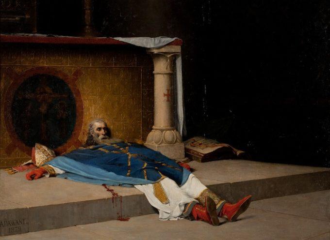 Il Santo del giorno, 29 Dicembre: S. Tommaso Becket, assassinato all'altare a Canterbury