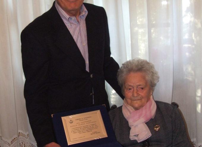 Ancora una centenaria a Altopascio : Giulia Elena Pistoresi