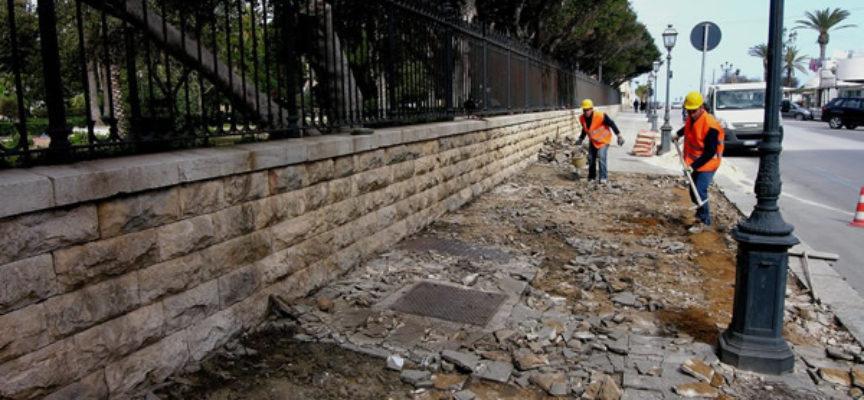 """SUL VIALE CADORNA SI ELIMINANO  """" le barriere architettoniche"""""""