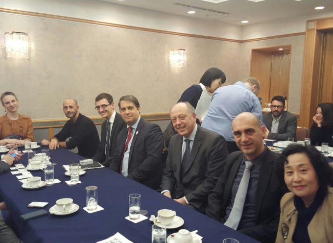 La delegazione lucchese al World Creative City Forum