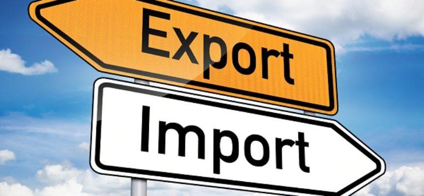Positivo l'andamento dell'import-export nei primi nove mesi 2015