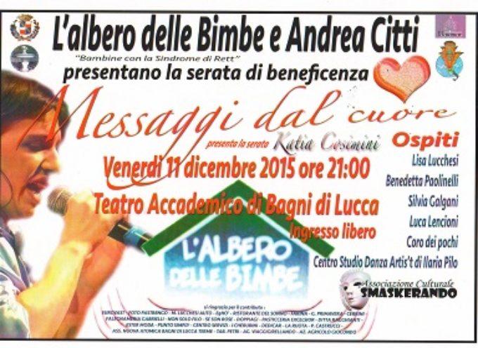 Serata di beneficenza a Bagni di Lucca