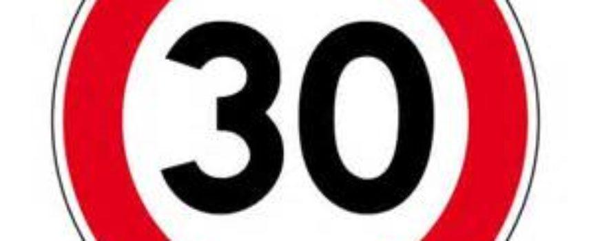 Via di Mugnano: scatta il limite di velocità a 30 Km orari