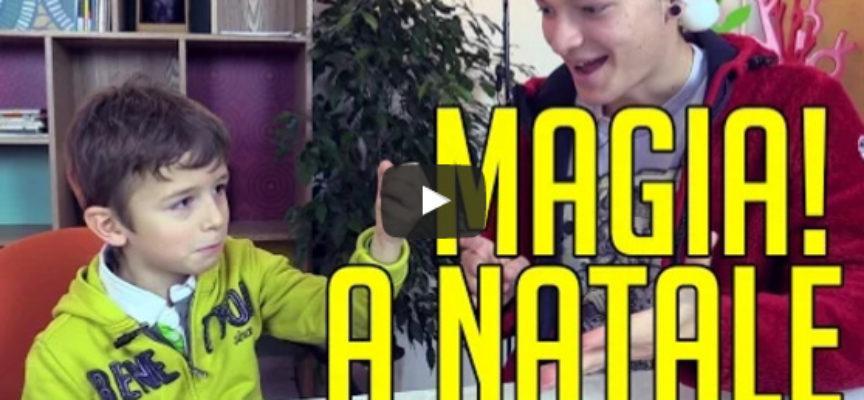 La Magia a Natale: come reagiscono i bambini?