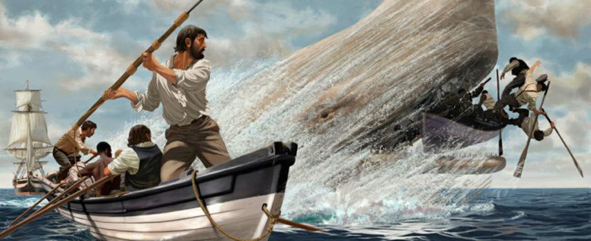 """Accadde Oggi, 20 Novembre: 1820, """"Moby Dick"""" attacca e affonda la baleniera Essex"""