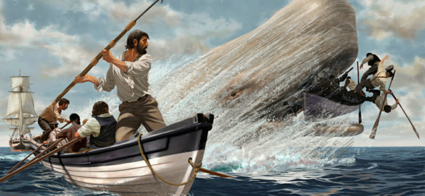 Baleniera moby dick