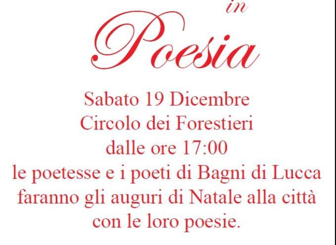 Auguri di Natale con la poesia a Bagni di Lucca
