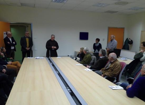 La Sala Anestesisti dell'ospedale San Luca di Lucca intitolata al prof. Menesini, fondatore della Rianimazione