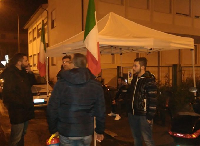 Presidio di CasaPound a San Vito: molti cittadini incontrati e le segnalazioni ricevute.