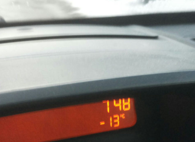 Temperature molto basse in Garfagnana
