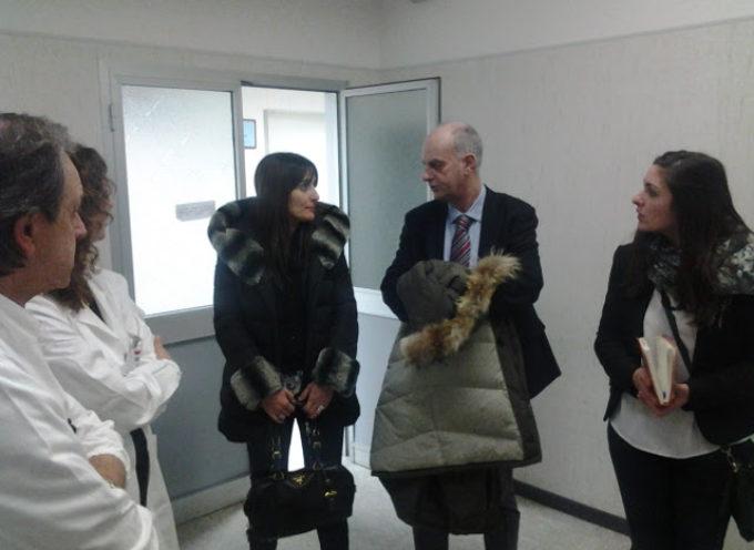 Visita agli ospedali di Barga e Castelnuovo e confronto con i professionisti per la consigliera regionale Ilaria Giovannetti