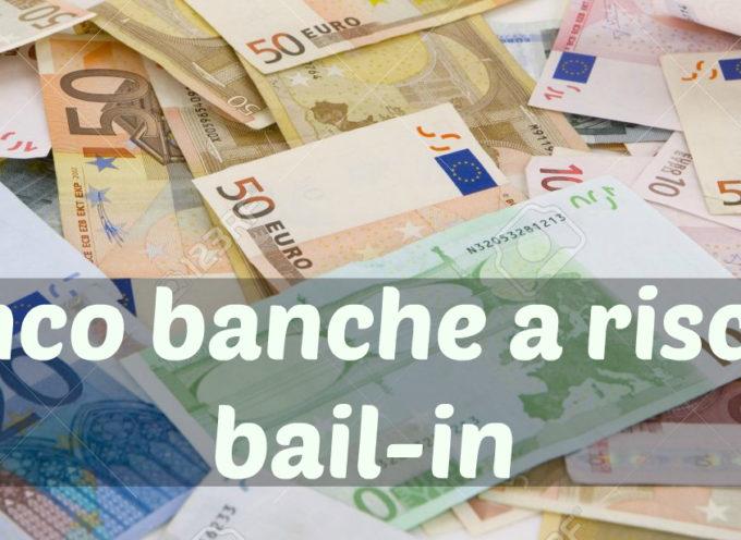 I VS. SOLDI A RISCHIO NELLE BANCHE…………..