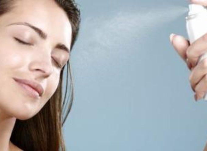 Sai usare l'acqua termale spray?