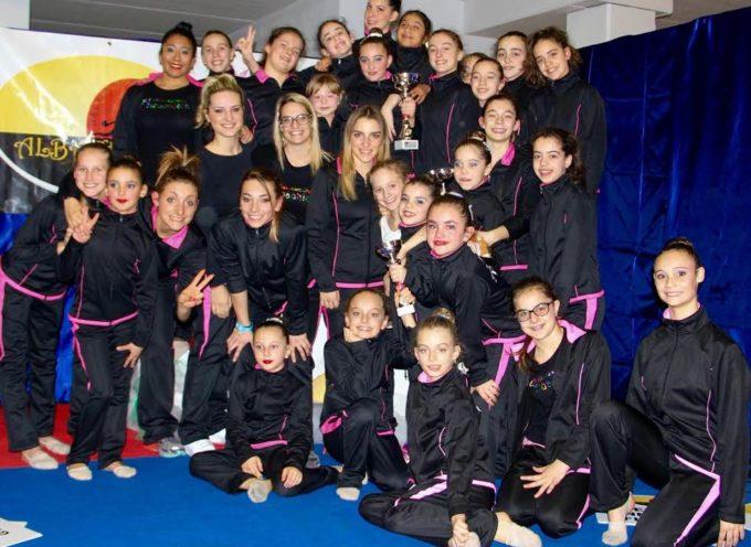 Si è conclusa alla grande la dieci giorni di ginnastica ritmica organizzata dalla Ginnastica Ritmica Albachiara al Palasport di Borgo a Mozzano .