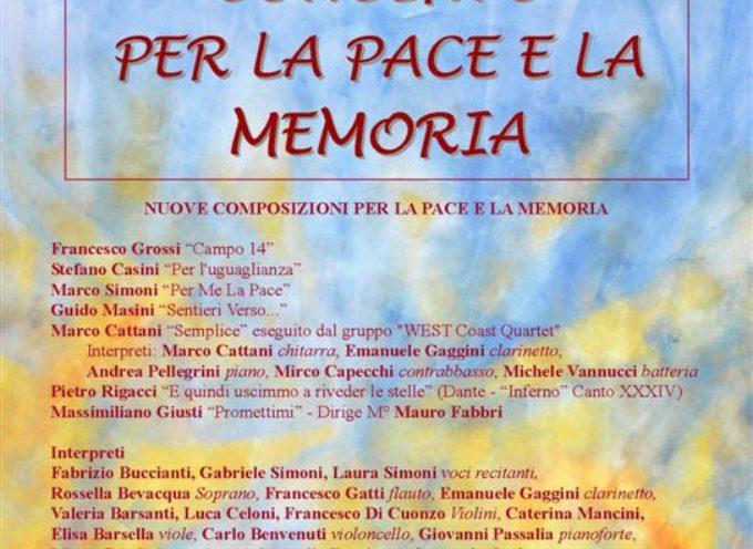 27 gennaio – concerto per la pace e la memoria