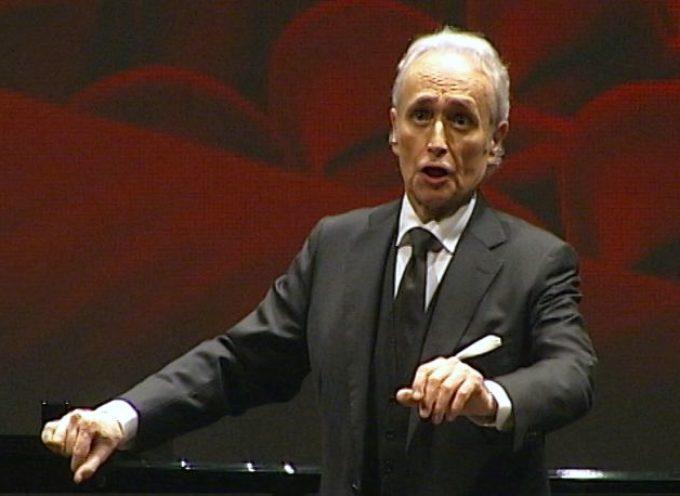 Un Josè  Carreras straordinario illumina Lucca e il ricordo di Puccini