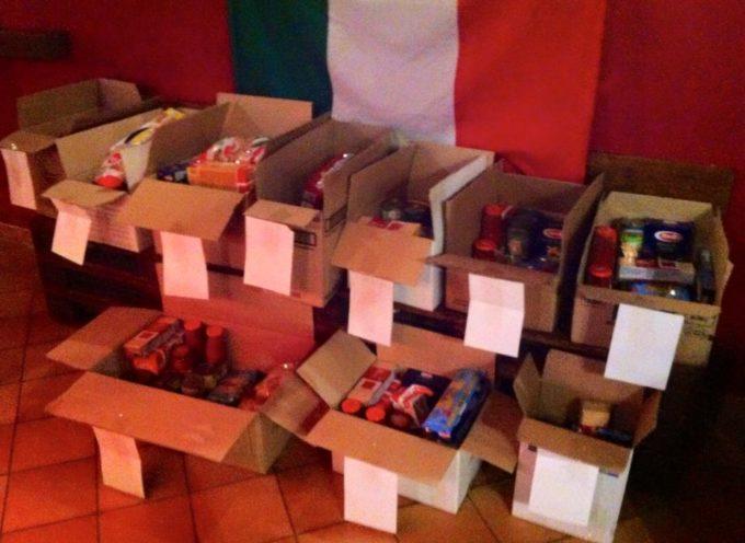 Prosegue la Raccolta Alimentare di CasaPound: consegnati i primi pacchi del 2016.