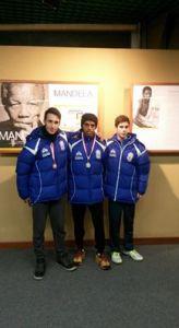 Allievi GS Orecchiella Medaglia argento e bronzo indoor 2016
