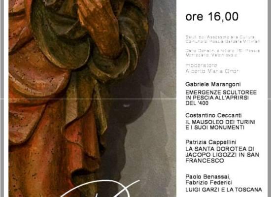 Sabato 13 febbraio, ore 16, convegno su storia dell'arte rinascimentale presso l'Archivio di Stato di Pescia
