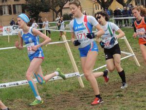 Gara Femminile Francesca Setti la prima a sx