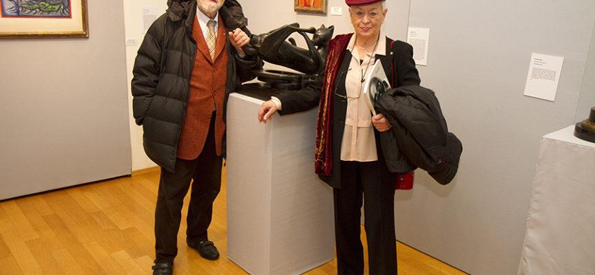 """""""Bodini. Sculture, disegni, incisioni 1958/2000"""": presentato il catalogo dell'esposizione con il collezionista e amico Gatti"""