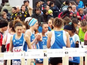 Partenza Gara Femminile Gubbio 2016
