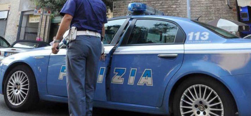 Inseguimento e arresto di un pluripregiudicato, a Viareggio, da parte della Polizia